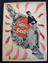 Thrill of Brazil (1946) - Evelyn Keyes | Vintage Trade Ad